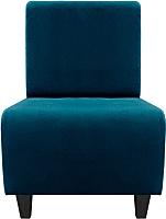 Кресло мягкое Brioli Руди Д (Luna 42) -