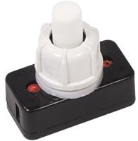 Выключатель клавишный Rexant ON-OFF для настольной лампы 36-3010 (белый) -
