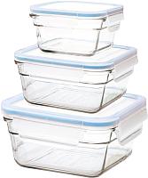 Набор контейнеров Glasslock GL-530 (3шт) -