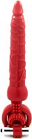 Вибратор ToyFa Black&Red / 908001-9 (красный) -