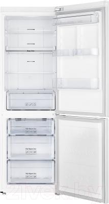 Холодильник с морозильником Samsung RB33J3400WW/WT - внутренний вид