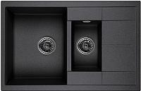 Мойка кухонная Granula GR-7802 (черный) -
