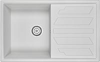 Мойка кухонная Granula GR-8002 (арктик) -