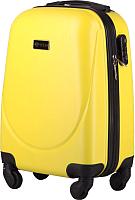 Чемодан на колесах Solier STL310 (S, желтый) -