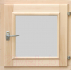 Окно для бани СаунаОпт 30x30 -