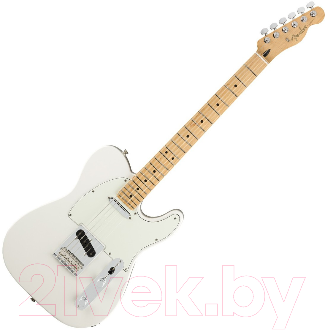 Купить Электрогитара Fender, Player Telecaster MN Polar White, Китай