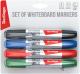 Набор маркеров для доски Berlingo 3650/8BC (2мм, 4шт) -