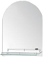 Зеркало для ванной РМС Z092OR (с полочкой) -