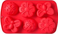 Форма для выпечки Walmer Garden / W27291730 (красный) -