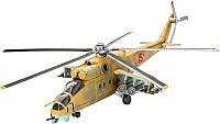 Сборная модель Revell Ударный вертолет Mil Mi-24D Hind 1:100 / 04951 -
