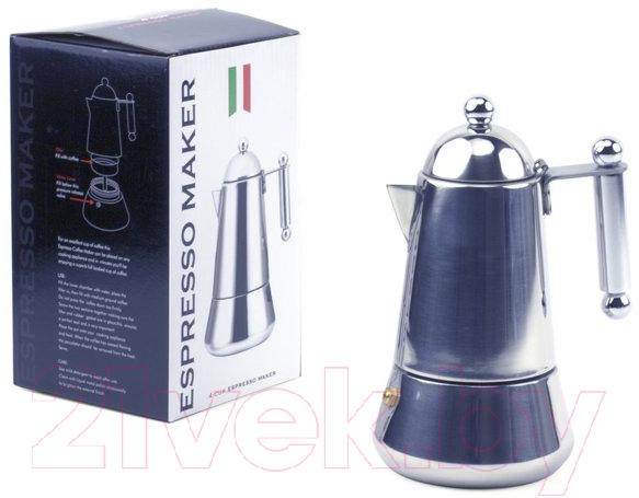 Купить Гейзерная кофеварка Viking, 224400C, Китай, нержавеющая сталь