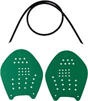 Лопатки для плавания LongSail Target (M, зеленый) -