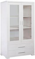 Шкаф с витриной Dipriz Мэдисон Д.1149.1 (белый воск) -