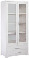Шкаф с витриной Dipriz Мэдисон Д.1150.1 (белый воск) -