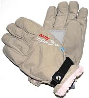 Перчатки лыжные No Brand G29 (бежевый) -