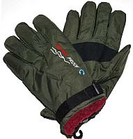 Перчатки лыжные No Brand G29 (зеленый) -