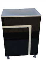 Тумба с умывальником ДнепроКерамика Faro 60 Дюк Амальфи-60 (черный) -