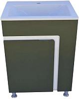 Тумба с умывальником ДнепроКерамика Faro 60 Дюк Амальфи-60 (зеленый) -