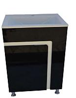 Тумба с умывальником ДнепроКерамика Faro 70 Дюк Амальфи-70 (черный) -
