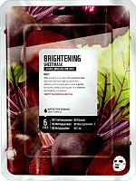 Маска для лица тканевая Superfood Salad for Skin Свекла - Ровный тон (25мл) -