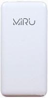 Портативное зарядное устройство Miru LP-1036A/5021 + СЗУ (белый) -