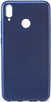 Чехол-накладка Case Deep Matte для Honor 8X (синий, матовый) -