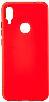 Чехол-накладка Case Matte для Redmi Note 7 (матовый красный) -