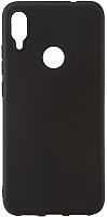 Чехол-накладка Case Matte для Redmi Note 7 (матовый черный) -