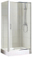 Душевой уголок Bravat Drop 120x80 / ND1131 -