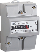 Счетчик электроэнергии индукционный IEK STAR 101-1 R1-5(60)М Ш2 / CCE-1R1-1-01-2 -