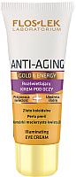 Крем для век Floslek Anti-Aging Gold & Energy Illuminating Eye Cream (30мл) -