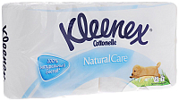 Туалетная бумага Kleenex Cottonelle Natural Care (8рул) -