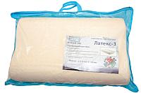 Ортопедическая подушка Фабрика сна Латекс-3 (43.5x67.5) -