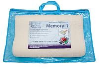 Ортопедическая подушка Фабрика сна Memory-1 (33x51.5) -