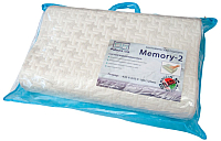Ортопедическая подушка Фабрика сна Memory-2 (43x67) -