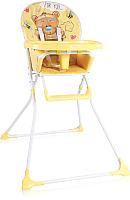 Стульчик для кормления Lorelli Cookie Yellow Bear / 10100241919 -