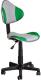 Кресло детское Седия Miami (серый/зеленый) -