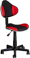 Кресло детское Седия Miami (черный/красный) -