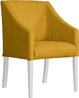 Кресло мягкое Atreve Cube (медовый BL68/белый) -