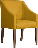 Кресло мягкое Atreve Cube (медовый BL68/орех) -