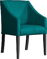 Кресло мягкое Atreve Cube (морской BL85/черный) -