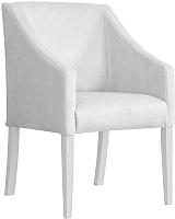 Кресло мягкое Atreve Cube (серебристый BL03/белый) -