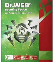 ПО антивирусное Dr.Web Security Space 3 мес. Скретч-карта / CHW-BK-3M-1-F3 (1ПК+моб.устройство) -