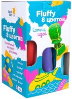 Пластилин легкий Genio Kids Воздушный пластилин Fluffy 8 цветов / TA1503 -