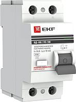 Устройство защитного отключения EKF PROxima ВД-100 2P 32А 30мА / elcb-2-32-30-em-pro -