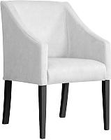 Кресло мягкое Atreve Cube (серебристый BL03/черный) -