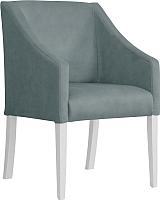 Кресло мягкое Atreve Cube (серый BL14/белый) -