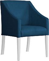 Кресло мягкое Atreve Cube (синий BL86/белый) -