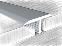 Порог КТМ-2000 318-01 М 2.7м (серебристый) -