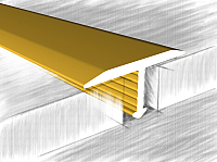 Порог КТМ-2000 318-02 М 2.7м (золото) -
